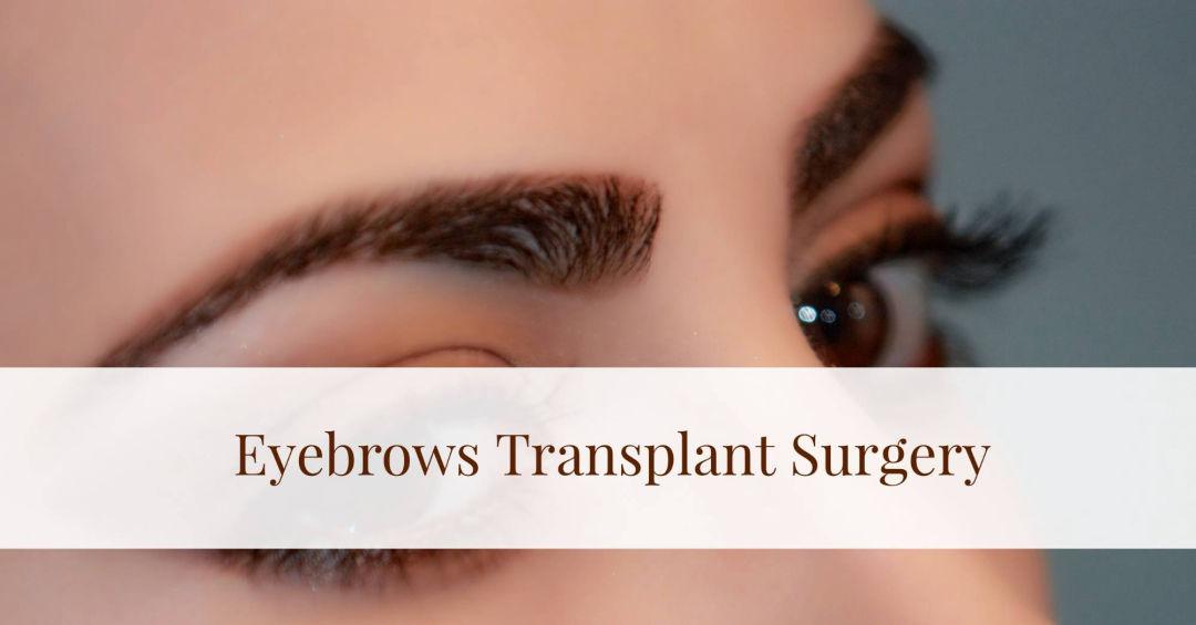 Eyebrows Transplant Hair Transplant Surgery Mexico